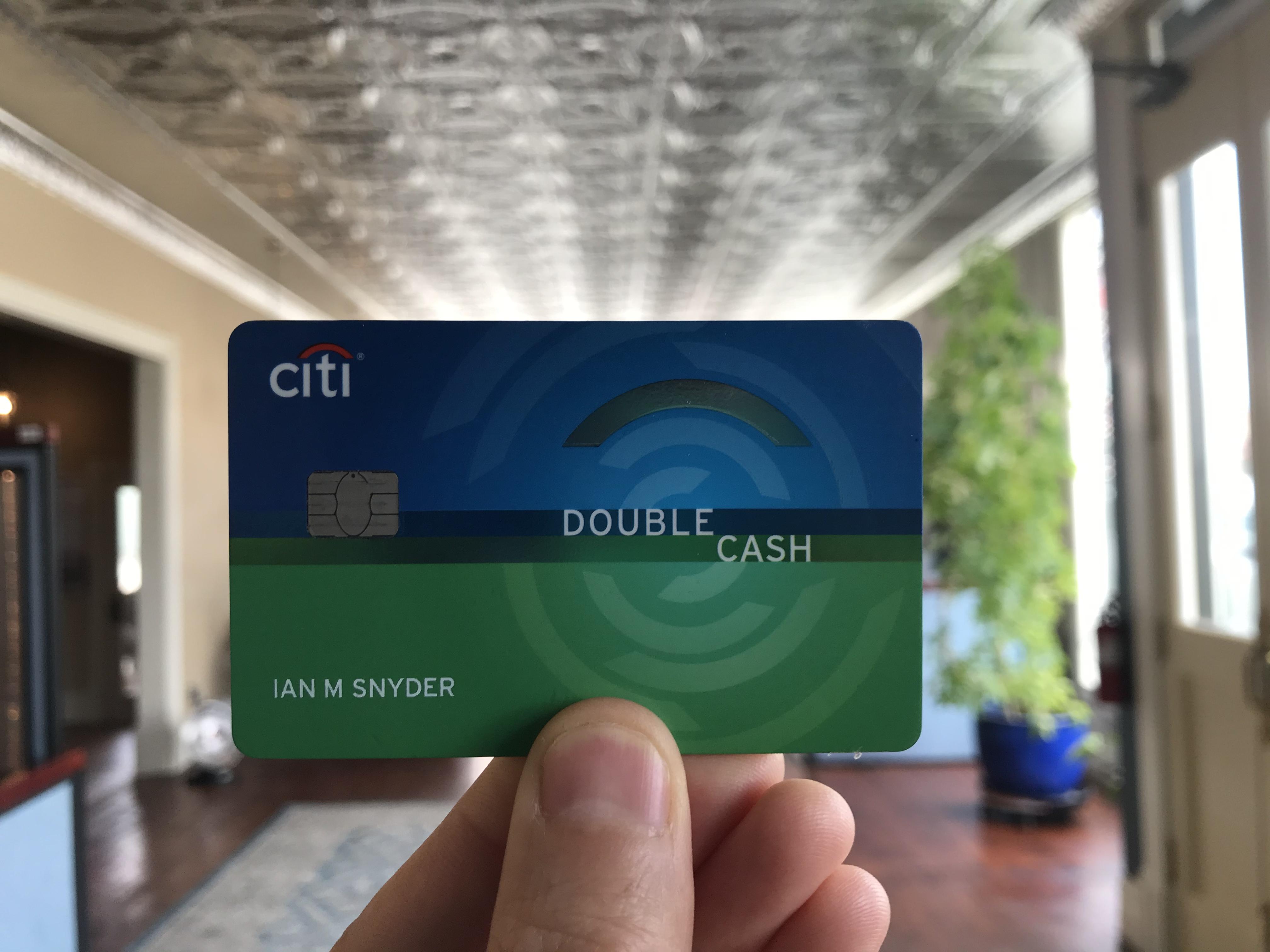 Citi Double Cash Spending Offer