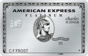 Cards in my wallet - Schwab Amex Platinum