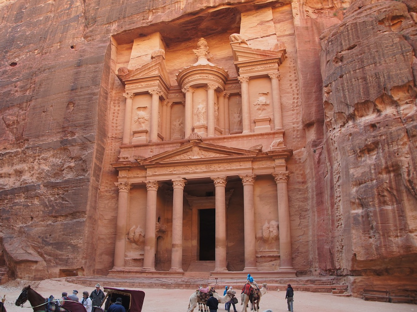 Visiting Petra: The Best Ways To Fly To The Middle East With Points & Miles